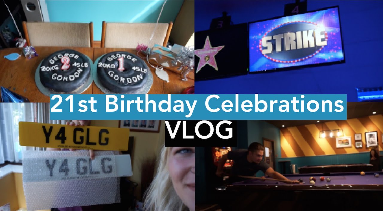 Boyfriends 21st Birthday Surprise Ideas and Presents VLOG YouTube