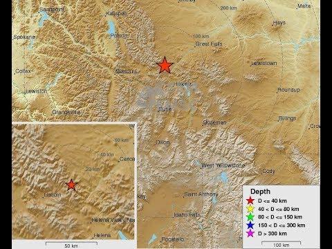BREAKING NEWS: 5.8 Earthquake Hits Montana - 7/6/17