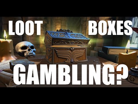 Are Loot Boxes Gambling? The Law Behind the Randomized Paid In-Game Prizes. Sweepstakes or Gamble
