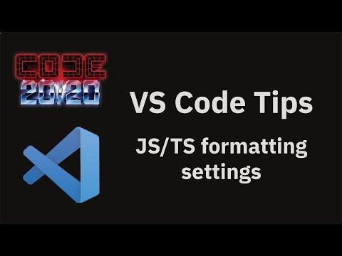 JS/TS formatting settings