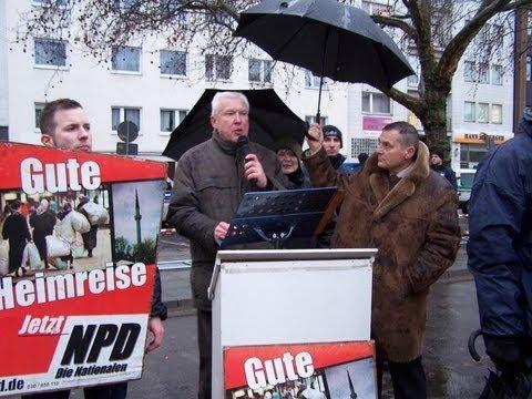 NPD-Niedersachsen: Niedersachsenfahrt - Adolf Dammann spricht in Hannover