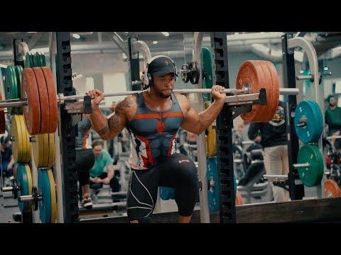315lb Explosive Strength Leg Training | Start Training Like An Athlete Now