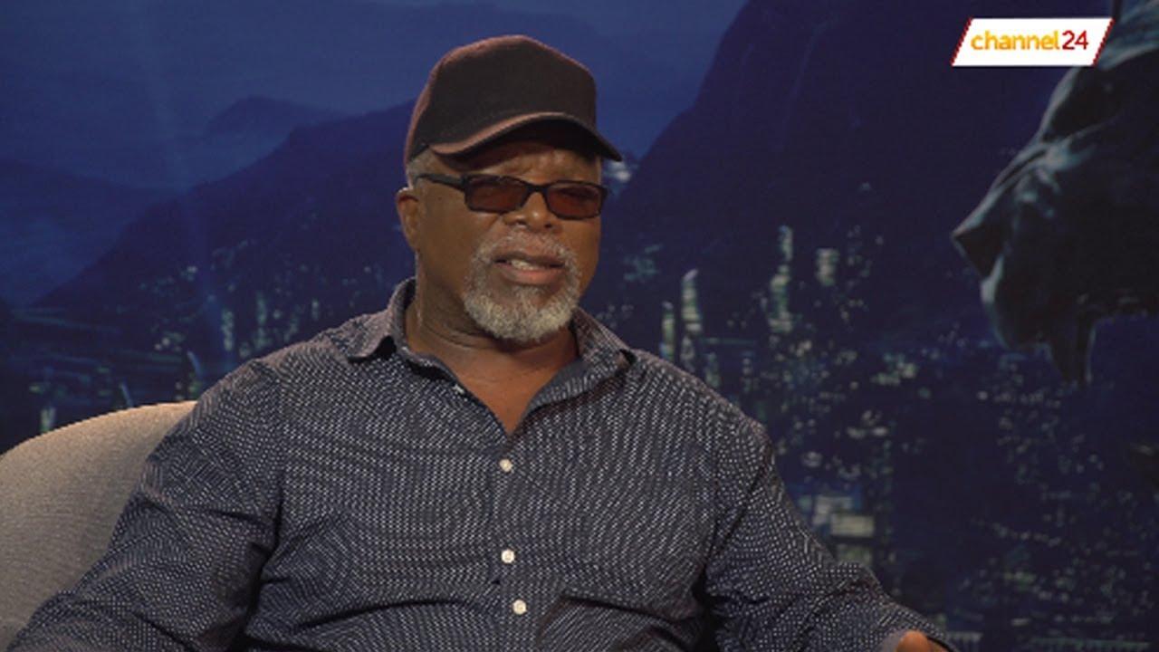 Dr John Kani chats Black Panther