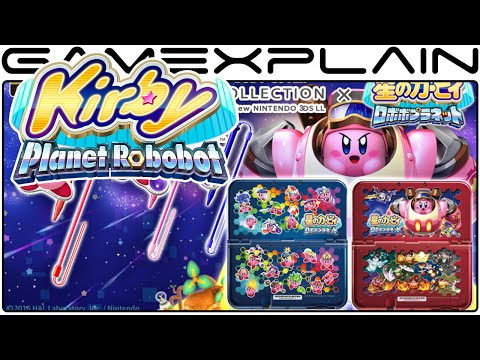 Kirby: Planet Robobot - New Abilities First Look! (ESP & Mirror)