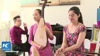Video LIVE: When Chinese music meets western: watch Erhu, Pipa, and Piano work wonders! download MP3, 3GP, MP4, WEBM, AVI, FLV Agustus 2018