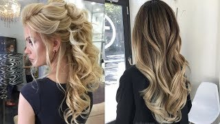 Latest Beautiful hairstyle for Long Hair girls | Bun hairstyles for Girls #5
