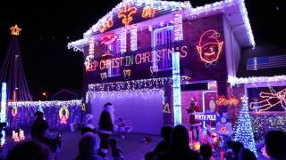Christmas Light Display in New Orleans