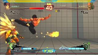 VxG2013: DR Ray vs coL. Filipino Champ - SSF4: AE Ver. 2012 - Pool Play