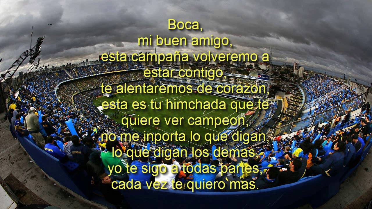 Boca Juniors songs with lyrics - YouTube