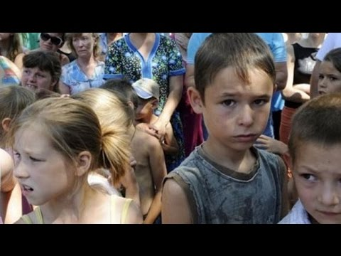 Russian humanitarian aid convoy pushes south to Ukraine