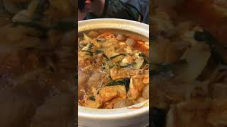 Kimchi nabe desu 😋😋😋 thumbnail