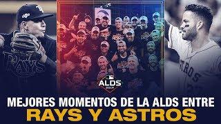 Mejores momentos entre los Astros y los Rays