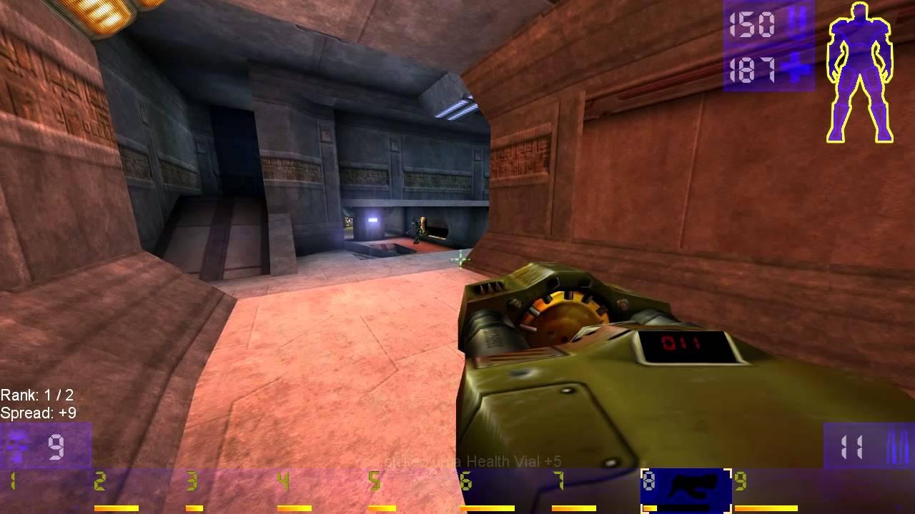 Unreal Tournament: Xan on Godlike HD