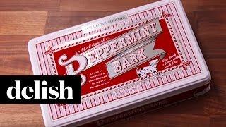 Williams Sonoma Peppermint Bark  Delish