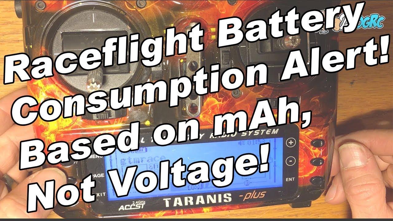 Raceflight Taranis Hack Mah Consumed And Voice Alert Youtube Precision Receiver Battery Low Voltage Alarm