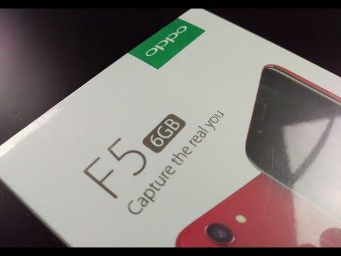 OPPO F5 - анпакинг и первые впечатления