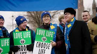 #Knights4Life at the 2019 March for Life