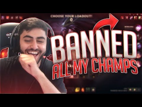 Yassuo | THEY BANNED ALL MY CHAMPIONS?!? (Unranked to Challenger) [Episode 5]