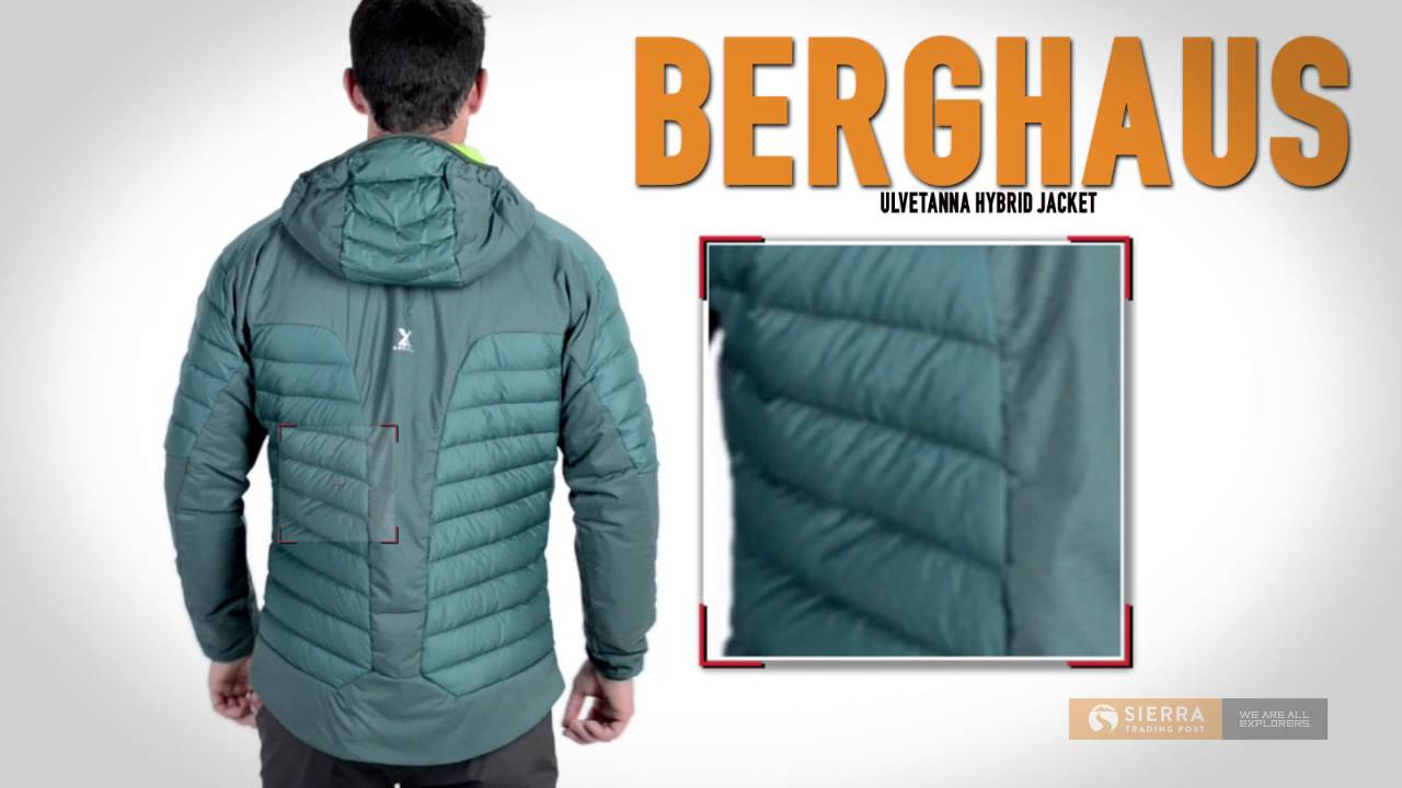 Berghaus ulvetanna mens parka coat