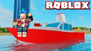 J'ACHÈTE THE HELADERA BOAT! - Roblox: Ice Cream Van Simulator