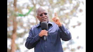 Hotuba ya Rais Magufuli Kiwanda cha Sukari Kagera