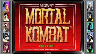 New Bezel: Mortal Kombat (All Characters)