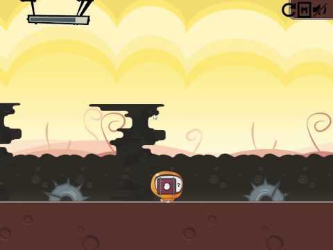 AstroDude gameplay.