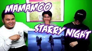 MAMAMOO - STARRY NIGHT MV REACTION (FUNNY FANBOYS)