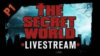 The Secret World Livestream - Part 1 - Faction intros, character creation, ponchos [Sponsored]