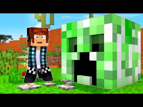 A CASA DO CREEPER !! - [ Vida de Creeper #7 ] - Minecraft