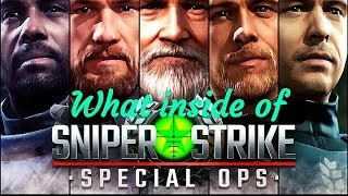 What inside of Sniper Strike FPS 3D Shooting Game