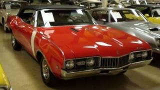 1968 Oldsmobile Cutlass Convertible Muscle Car