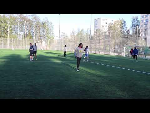 Ghana Team In Finland Training For Helsinki Tournament
