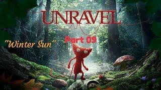 """Unravel™_Прохождение. Часть 9. """"Winter Sun"""""""