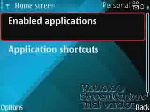 Nokia E71 Mode Settings