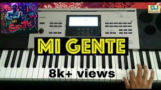 Mi Gente Instrumental J Balvin Willy William Music making from a keyboard Casio 6300.mp3