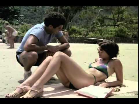 Flagra: Casal na praia