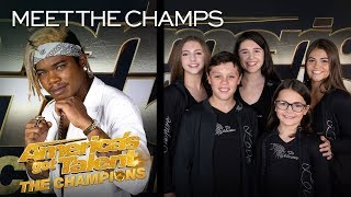 Brian King Joseph and The Silhouettes Are BACK! - America's Got Talent: The Champions