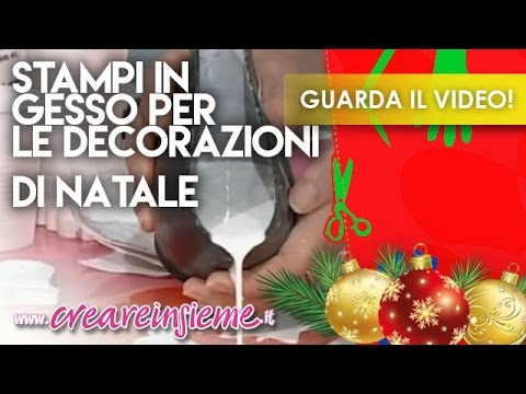Video manidilara stampi in gesso per le decorazioni di natale youtube - Decorazioni in gesso ...