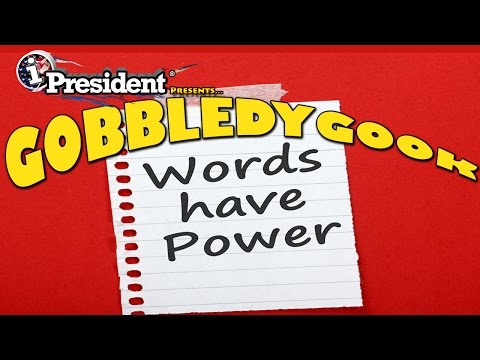 GOBBLEDYGOOK by iPresident of the United States