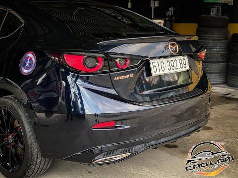 Mazda 3 độ đèn hậu full Led mẫu 2020