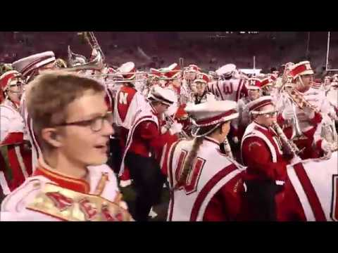 5th Quarter Badger Band And Cornhusker Band 10 6 18 Youtube