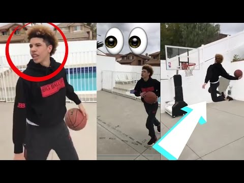 Thumbnail: Lamelo Ball And Lonzo Ball Dunking Like Zion Williamson :: Ball Brothers Vs Zion Williamson!