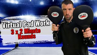 Let me take you on the Pads | Virtual Pad Work Training