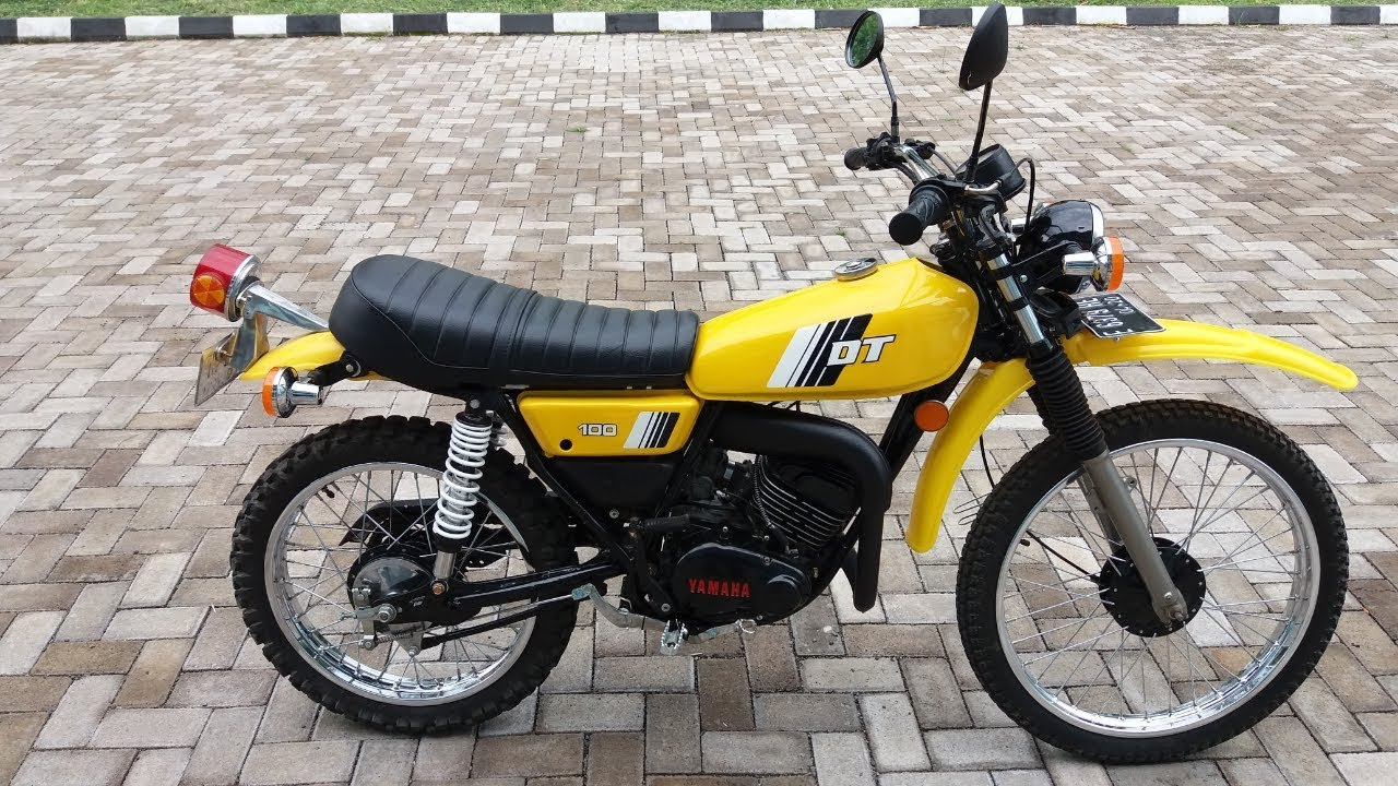 Download 71 Modifikasi Mesin Yamaha Dt 100 Terbaik Kempoul Motor