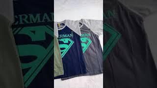 Kaos superman anak IMPORT harga dibawah 50rb