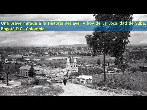 Historia de la Localidad de Suba, Bogota D.C.