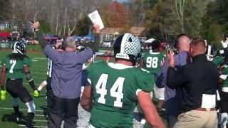 Gambar cover Nichols Football vs Endicott 11-4-17 (Senior Day)