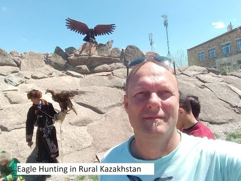 Eating sheep's head and eagle hunting in Kazakhstan with the Travel Professor