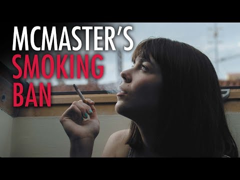Ezra Levant: McMaster U. smoking ban isn't about health